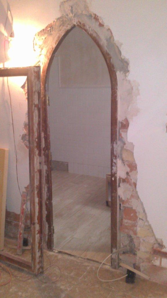 Trabajo de carpintería de la empresa Multiservicios Centro Sevilla.